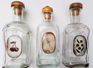 Regalos personalizados. Botellas esmaltadas al fuego. Joyas Siliva.