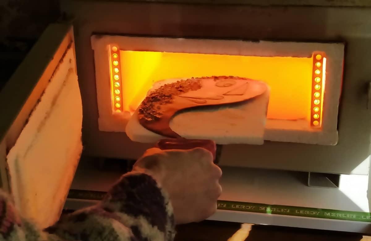 Clases de esmalte al fuego sobre metales. Joyas Siliva.
