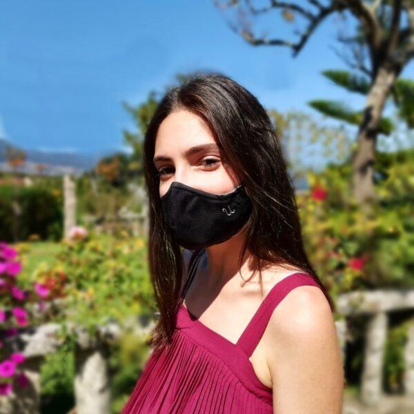 mascarillas de tela con bolsillos personalizada. Joyas Siliva.