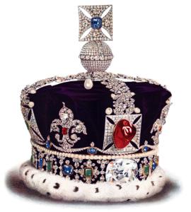 El diamante más grande del mundo. Corona del estado imperial. Diamante Cullinan II