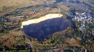 Eldiamante más grande del mundo. Mina Cullinan de Sudáfrica.