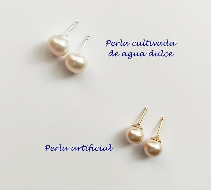 Como saber si una perla es real o artificial. Joyas Siliva.